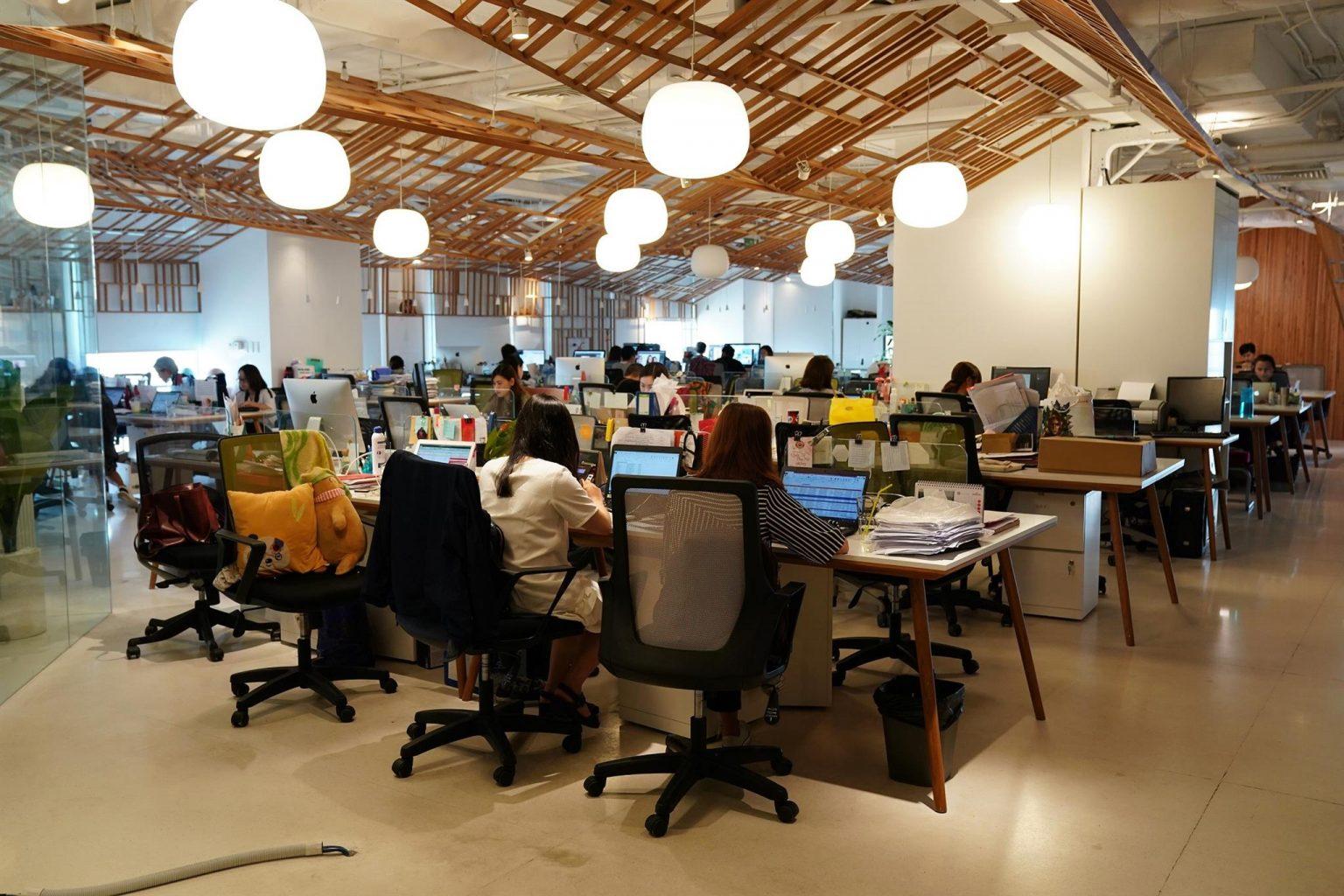 7 Ý tưởng thiết kế văn phòng tiện nghi