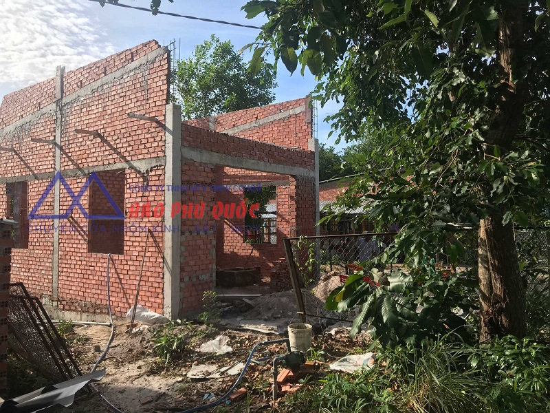 Quy trình xây dựng homestay Phú Quốc - đã lên tầng 1